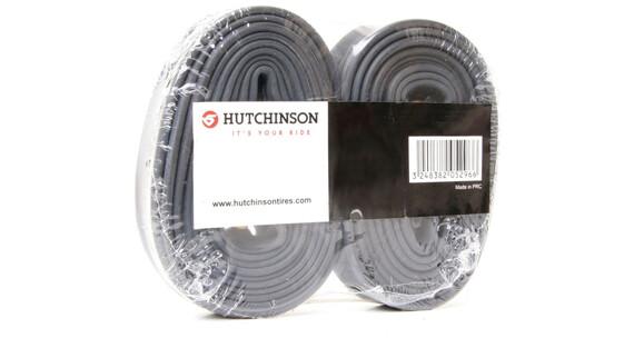 """Hutchinson 27,5"""" Cykelslange 27,5 x 1,70-2,35"""" 2er-pakke sort"""